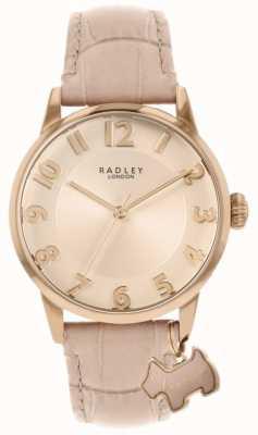 Radley Straat in Liverpool | roze lederen band | roze wijzerplaat | RY2872