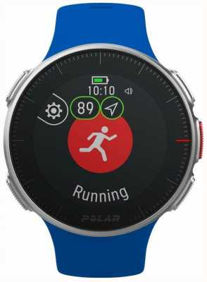 Polar | vantage v blauw | gps multi sport premium training uur 90080283
