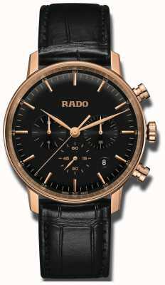 Rado Coupé klassieke quartz chronograaf zwarte wijzerplaat R22911165