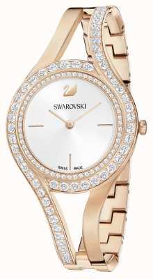 Swarovski | eeuwig | roségouden stalen armband | kristal set | wit 5377576