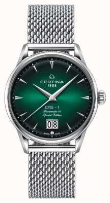 Certina Ds-1 speciale editie grote datum | powermatic 80 | zilver gaas C0294261109160