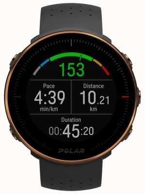 Polar | voordeel m | hartslagmeter | zwart rubber | m / l 90080198