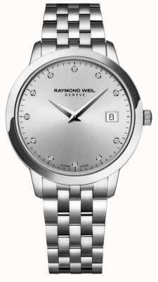 Raymond Weil Dames | toccata | diamant | zilveren wijzerplaat 5388-ST-65081