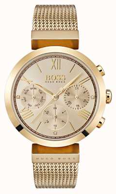 Boss Dames multifunctioneel klassiek sport goud ex-display 1502425 EX-DISPLAY