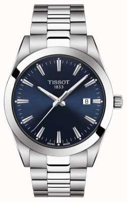 Tissot | heer | roestvrijstalen armband | blauwe wijzerplaat | T1274101104100