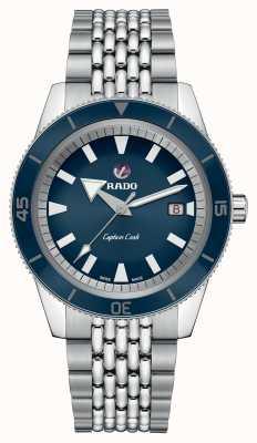 Rado XL 'captain cook' roestvrij stalen armband blauwe wijzerplaat R32505203