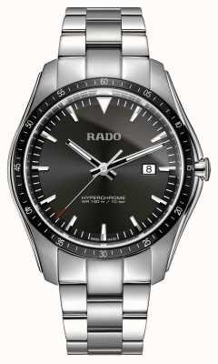 Rado XXL hyperchroom roestvrijstalen horloge met zwarte wijzerplaat R32502153