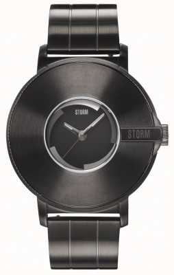 STORM | camera v6 leisteen | beperkte oplage | stalen armband 47463/SL