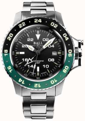Ball Watch Company   ingenieur koolwaterstof   aerogmt ii   DG2018C-S11C-BK