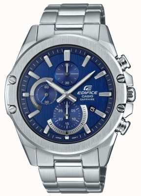 Casio Edifice neo display chronograaf | roestvrij stalen armband EFR-S567D-2AVUEF