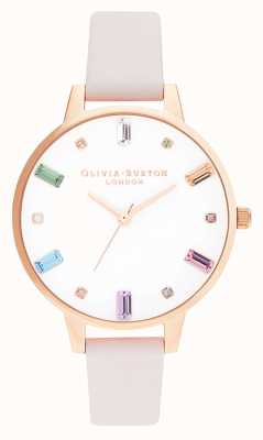 Olivia Burton dames | regenboog bloesem | rose goud | OB16RB22