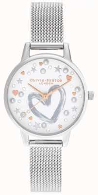 Olivia Burton Rose goud en zilver gaas OB16LH12