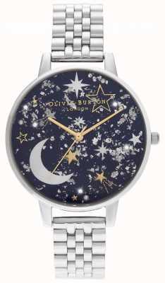 Olivia Burton Navy zonnestraal, gouden en zilveren armband OB16GD64