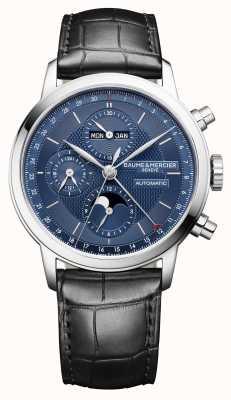 Baume & Mercier Classima | volledige kalender | automatisch | chronograaf M0A10484