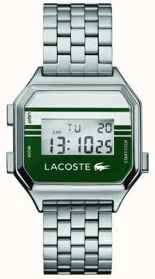 Lacoste Berlijn | digitaal display | roestvrij stalen armband 2020137