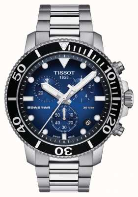 Tissot Heren seastar 30 bar 1000 chrongraph T1204171104101