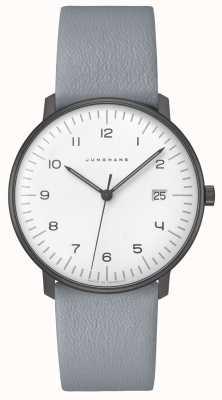 Junghans Max factuur kwarts | 38 mm zwart-wit 041/4064.04