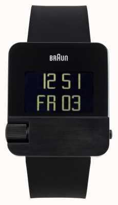 Braun Heren | prestige | digitaal | zwart rubber BN0106BKBKG
