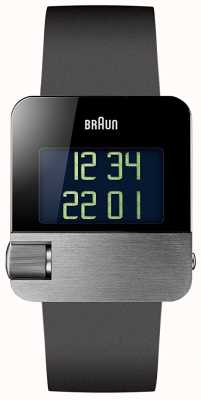 Braun Heren | prestige | digitaal | zwart rubber BN0106SLBKG