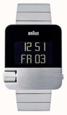 Braun Heren | prestige | digitaal | roestvrij stalen armband BN0106SLBTG