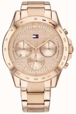 Tommy Hilfiger Haven | roségouden ion-plated armband | rose wijzerplaat 1782197