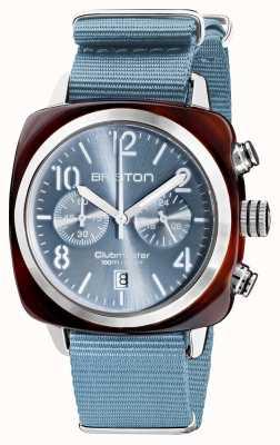 Briston Clubmaster klassieker | chronograaf | 19140.SA.T.25.NIB