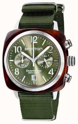 Briston Clubmaster klassieker chronograaf | 19140.SA.T.26.NOL