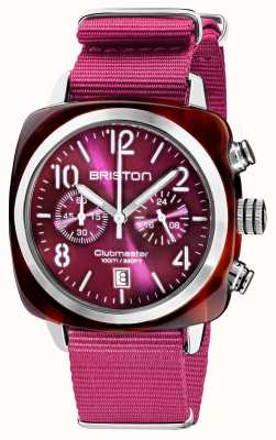 Briston Clubmaster klassieker chronograaf | 19140.SA.T.32.NC