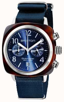 Briston Clubmaster klassieker chronograaf | 19140.SA.T.33.NMB
