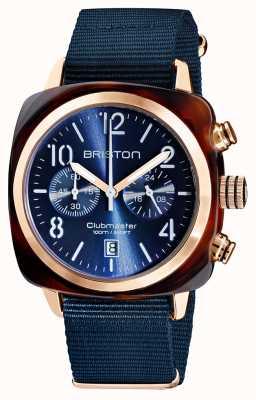 Briston Clubmaster klassieker chronograaf | 19140.PRA.T.33.NMB