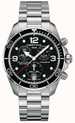 Certina DS Action Chrono | chronometer | roestvrij stalen armband C0324341105700