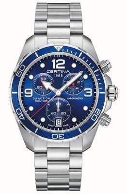 Certina DS Action Chrono | chronometer | roestvrij stalen armband C0324341104700