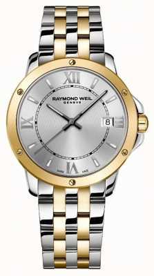 Raymond Weil Heren | tango | 2-tone stalen armband | zilveren wijzerplaat 5591-STP-00657