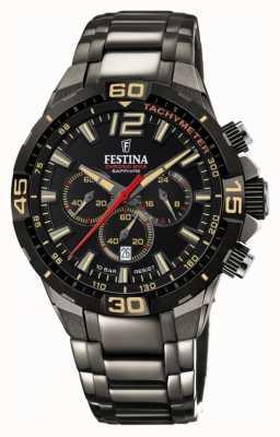 Festina Chrono bike 2020 limited edition grijze stalen armband F20527/1