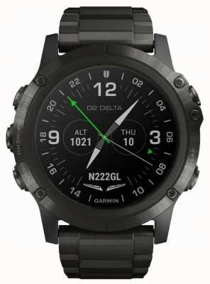Garmin D2 delta px vlieger | DLC titanium band 010-01989-31