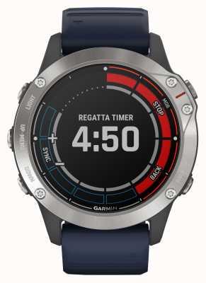 Garmin Quatix 6 | kapitein blauwe band gps marine horloge 010-02158-91