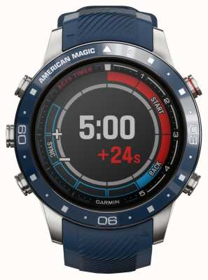 Garmin Marq kapitein | american magic edition (blauwe en rode bandjes) 010-02454-01