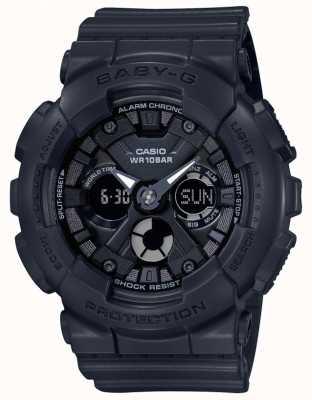 Casio Baby g zwarte analoge / digitale alarmchronograaf BA-130-1AER