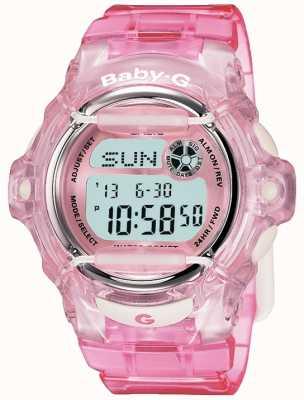 Casio Digitaal display met roze riem voor baby's BG-169R-4ER