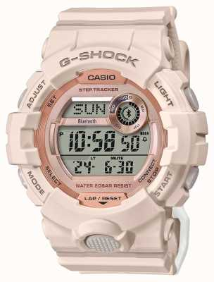 Casio G-shock | g-ploeg | roze rubberen band | Bluetooth GMD-B800-4ER