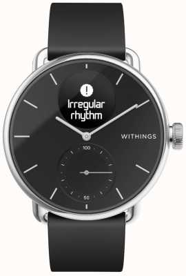 Withings Scanwatch siliconen band 38 mm - zwart HWA09-MODEL 2-ALL-INT