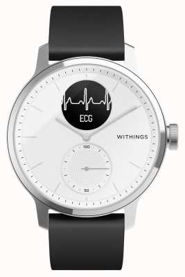 Withings Scanwatch 42mm wit - hybride smartwatch met ecg HWA09-MODEL 3-ALL-INT