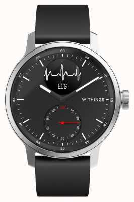 Withings Scanwatch 42mm zwart - hybride smartwatch met ecg HWA09-MODEL 4-ALL-INT