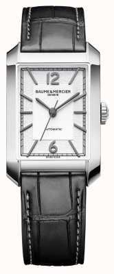 Baume & Mercier Heren Hampton | automatisch | opaline zilveren wijzerplaat | M0A10522