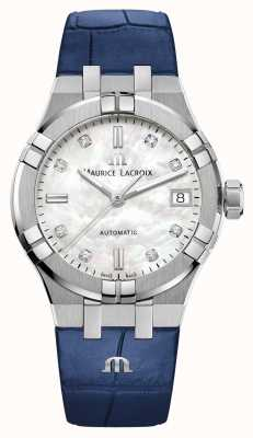 Maurice Lacroix Aikon | automatisch | rubberen band AI6006-SS001-170-2