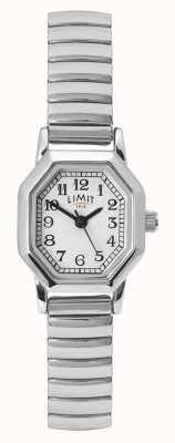 Limit Roestvrij stalen armband voor dames | wit / zilveren wijzerplaat 60122.38