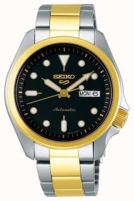 Seiko Automatisch herenhorloge met 5 sporten | twee toon SRPE60K1