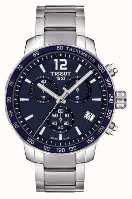 Tissot Quickster blauwe wijzerplaat chronograaf T0954171104700