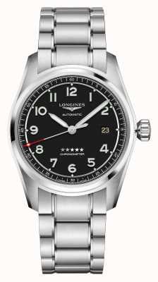 Longines Geest | heren | Zwitserse automaat | roestvrij stalen armband L38104539
