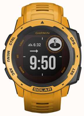 Garmin Instinct solar gps sunburst rubberen band 010-02293-09